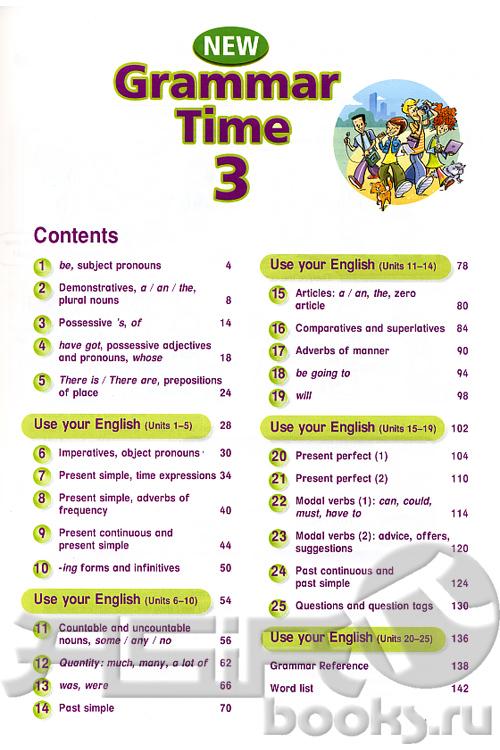 Гдз по учебнику grammar time 3